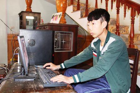 Cai Tet vui tot do cua chang trai 'khong mat' xu Thanh - Anh 2