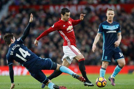 Mourinho he lo ly do de Mkhitaryan da... hau ve trai - Anh 1