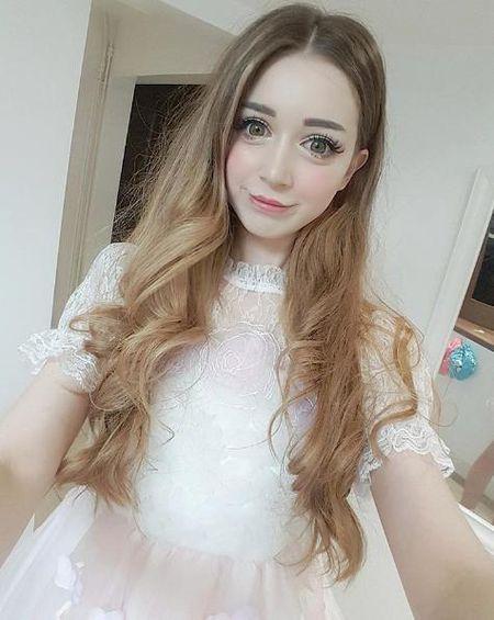 Hot girl nguoi Anh xinh dep nhu bup be gay sot mang - Anh 4