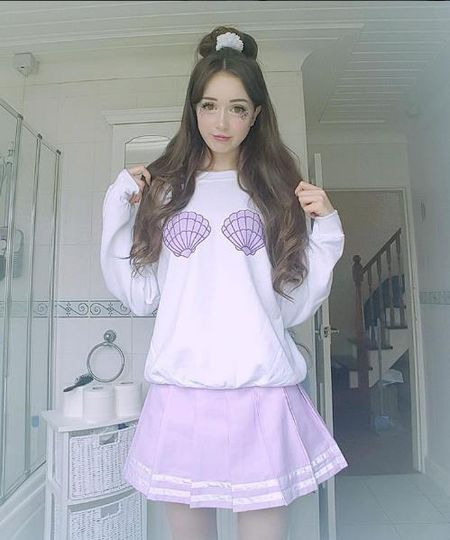 Hot girl nguoi Anh xinh dep nhu bup be gay sot mang - Anh 8