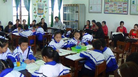 Khanh Hoa: Luu y phan mon chinh ta day theo mo hinh VNEN - Anh 1
