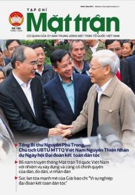 Nha bao Vu Van Tien - Tong Bien tap tap chi Mat tran: Cai gi ben vung se la ben vung… - Anh 2