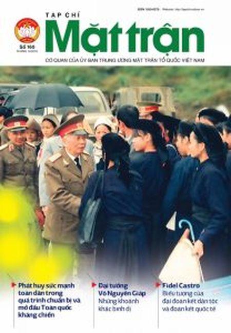 Nha bao Vu Van Tien - Tong Bien tap tap chi Mat tran: Cai gi ben vung se la ben vung… - Anh 3