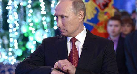 Tong thong Putin lam gi vao nam moi? - Anh 1