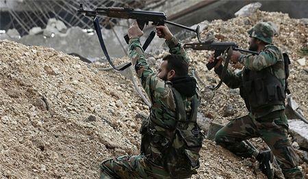 Syria: SAA tiep tuc quet sach phien quan o tay bac Damascus - Anh 1