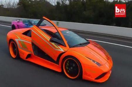 Man nhan voi dan sieu xe Lamborghini tri gia hon 277 ty dong - Anh 5
