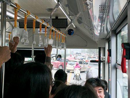 Trai nghiem xe buyt nhanh BRT tai Ha Noi trong ngay dau nam 2017 - Anh 10