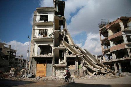 Phe doi lap 'to' chinh phu Syria vi pham lenh ngung ban - Anh 1