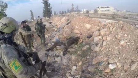 Tran chien Aleppo: Dac nhiem Nga xung tran cung binh si Hezbollah (video) - Anh 4