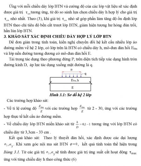 Tinh toan lua chon chieu day hop ly lop be tong nhua theo chi tieu do ben cat truot trong ket cau ao duong mem duong o to - Anh 4