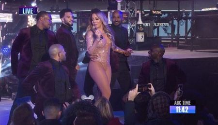 Mariah Carey lo hat nhep o le hoi don nam moi tai New York - Anh 2