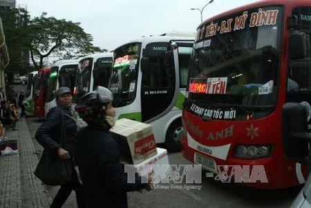 Ha Noi dieu chinh chi tiet nhieu tuyen xe lien tinh - Anh 1