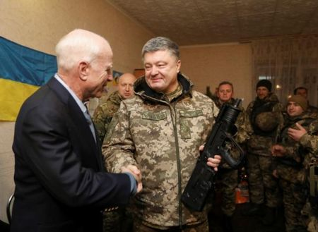 John McCain: 'My se sat canh voi Ukraina chong Nga' - Anh 1