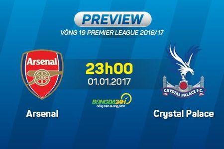 Arsenal vs Crystal Palace (23h00 ngay 1/1): Tin vao lich su - Anh 1