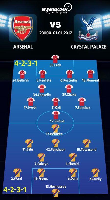 Arsenal vs Crystal Palace (23h00 ngay 1/1): Tin vao lich su - Anh 4