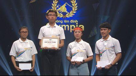 Cuoc thi tuan Olympia co 4 thi sinh tren 200 diem - Anh 2