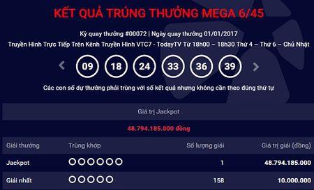 Khach hang dau tien nam 2017 trung xo so gan 49 ty dong - Anh 1
