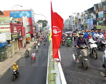 Thanh pho Ho Chi Minh: Thong xe nhanh cau vuot Nga 6 Go Vap - Anh 2