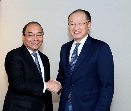 Thu tuong tiep lanh dao WB, WTO - Anh 1