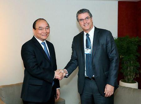 Thu tuong tiep lanh dao WB, WTO - Anh 2
