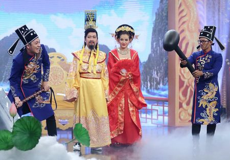 Truong Giang bat ngo hoa Ngoc Hoang dem giao thua - Anh 5