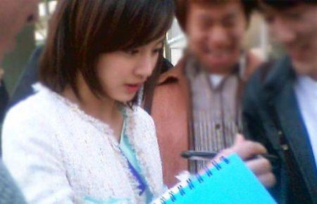 Ngam Kim Tae Hee xinh dep thuo hoc sinh - Anh 2