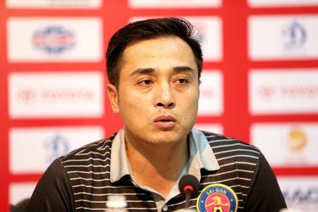 HLV Duc Thang dung giai Fair Play de 'da xoay' tran derby Sai Gon - Anh 1