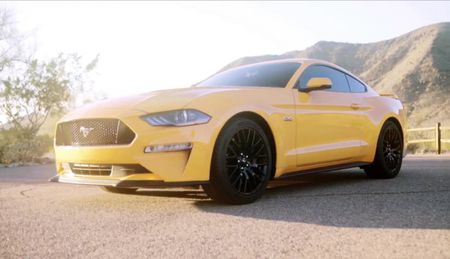 Ngam ve dep 'chat lu' cua sieu xe Ford Mustang 2018 - Anh 3