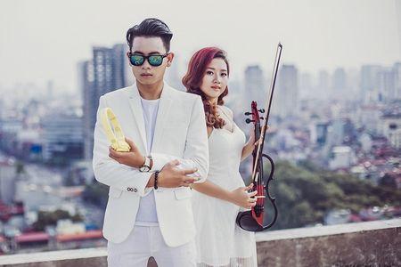 'Sot' voi ban remix 'We don't talk any more' cua DJ Hung 88 va nu Violin xinh dep - Anh 2