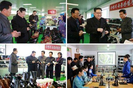 Ong Kim Jong-un cui chao cong nhan - Anh 1