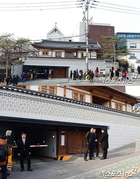 HOT: Kim Tae Hee dien vay ngan lam co dau xinh dep trong ngay cuoi - Anh 6