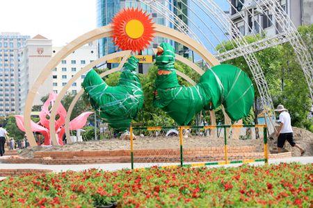 Duong hoa Nguyen Hue da hoan thanh 90% - Anh 2