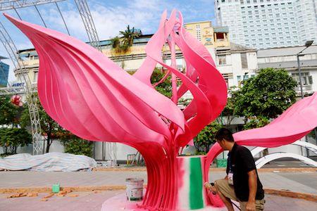 Duong hoa Nguyen Hue da hoan thanh 90% - Anh 3