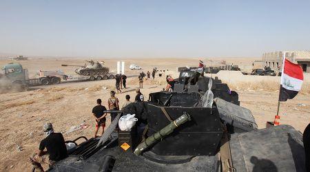 Quan doi Iraq giai phong hoan toan khu vuc phia Dong Mosul - Anh 1