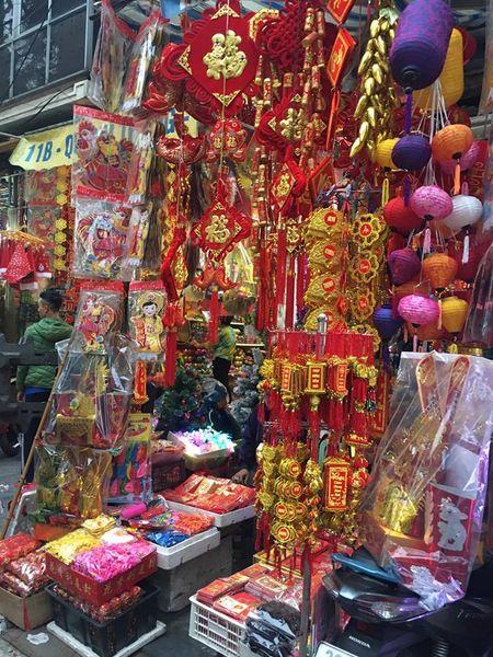 Pho Hang Ma lung linh don Tet Dinh Dau 2017 - Anh 2