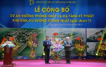 Du an xay dung khu dan cu va tuyen duong thong nhat tao dien mao moi cho Song Cong - Anh 1