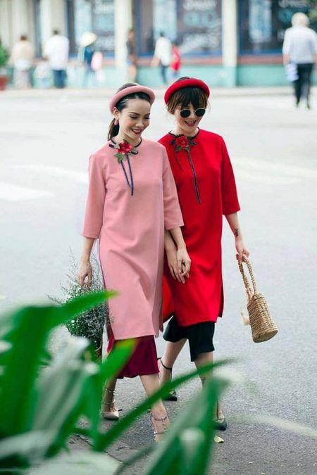 Thanh Hang 'ngung nguay' trong thiet ke ao dai dang yeu muon xiu! - Anh 10