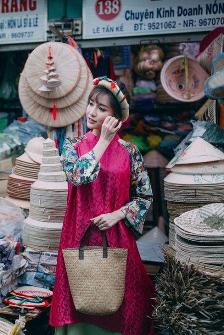 Thanh Hang 'ngung nguay' trong thiet ke ao dai dang yeu muon xiu! - Anh 14