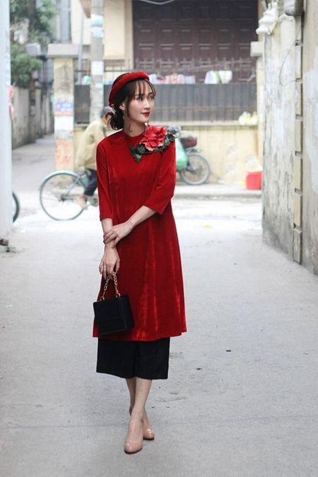 Thanh Hang 'ngung nguay' trong thiet ke ao dai dang yeu muon xiu! - Anh 8