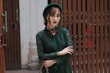 Thanh Hang 'ngung nguay' trong thiet ke ao dai dang yeu muon xiu! - Anh 9