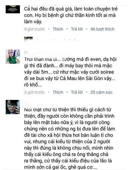 Cap doi Thanh Bach - Thuy Nga bi 'nem da' phan doi vi dien ao dai 5m len may bay - Anh 4