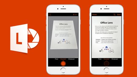 Office Lens chinh thuc 'cap ben' iPad - Anh 1