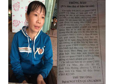 Vu 'khon kho vi thay vang trong rac': Hoan phien toa, giam dinh lai chu ky - Anh 1
