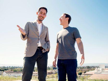 Mark Zuckerberg lan dau chia se bi quyet 'mua cong ty nao trung cong ty do' - Anh 1