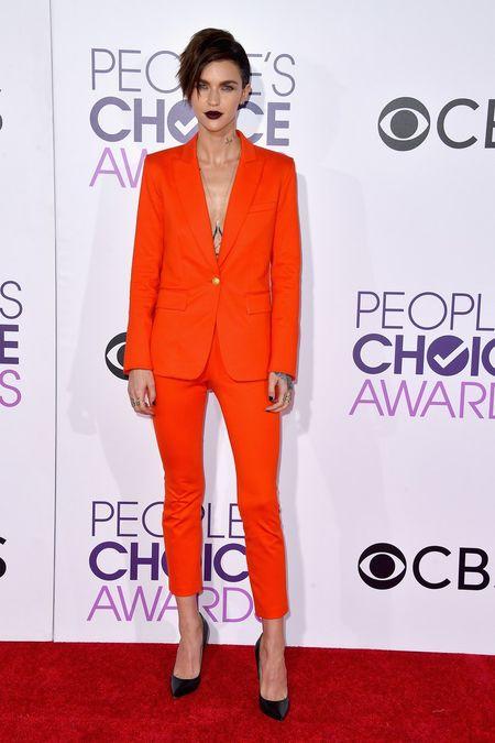 Jennifer Lopez mac dep nhat tham do People's Choice Awards - Anh 8