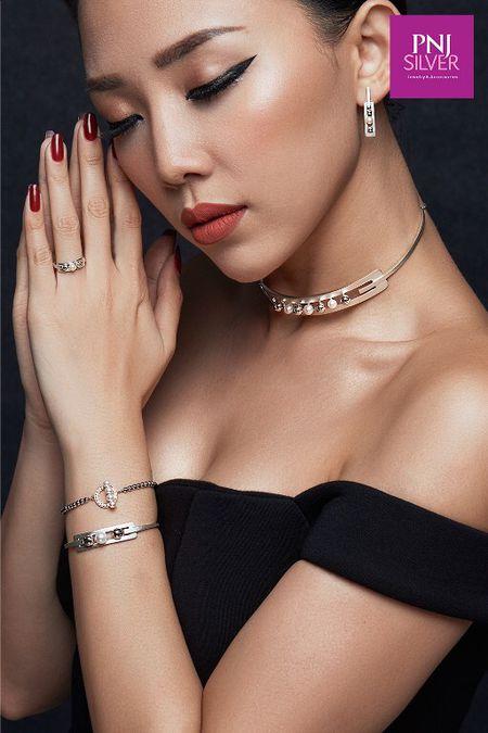 Toc Tien da phong cach voi xu huong Bad girl - Good girl - Anh 5