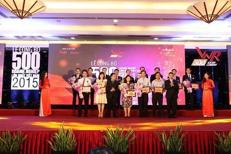 VNR500 nam 2016: Cong bo top 500 DN lon nhat Viet nam - Anh 1