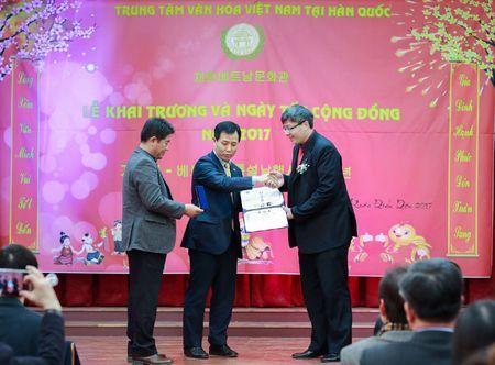Khai truong Trung tam Van hoa Viet Nam tai Han Quoc - Anh 3