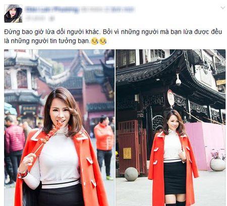 Ngoc Trinh huy dau gia lai sieu sim, con dau Hoang Kieu viet 'dung lua doi nguoi khac' - Anh 3