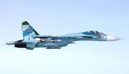 Tiem kich Su-27 lam thit 'vua bau troi' My - Anh 1
